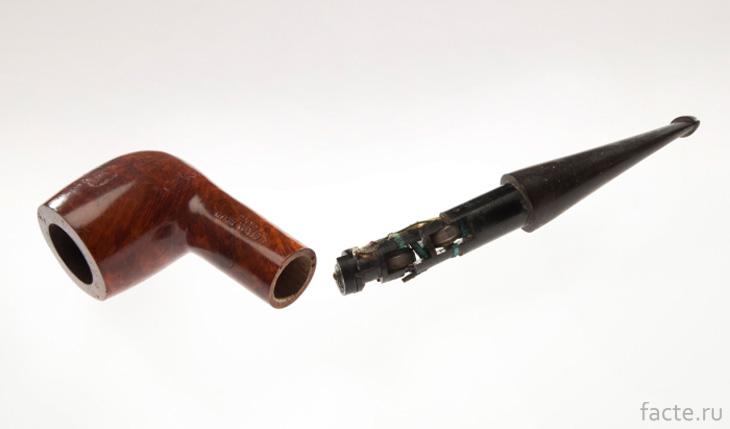Курительная трубка шпиона