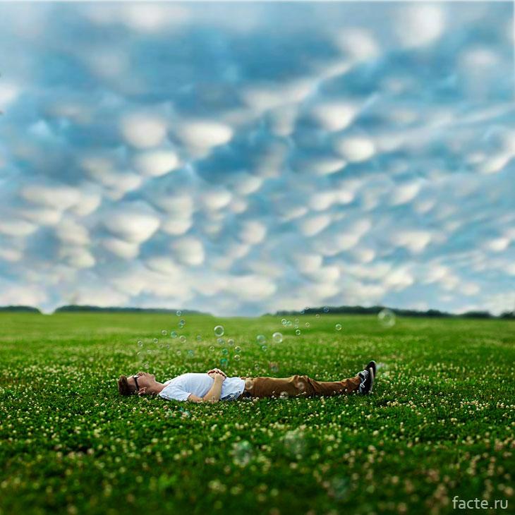 Наблюдение за облаками