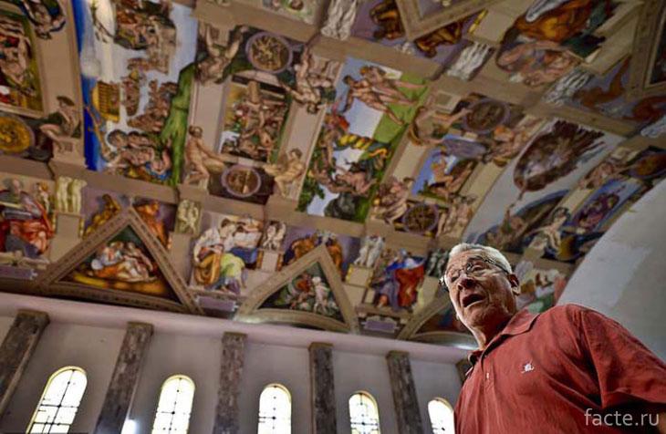 Мексиканский художник Мигель Франциско Масиас