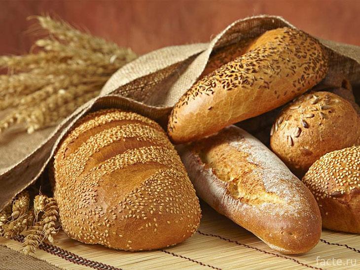 Хлеб, выпекаемый с использованием бромата калия