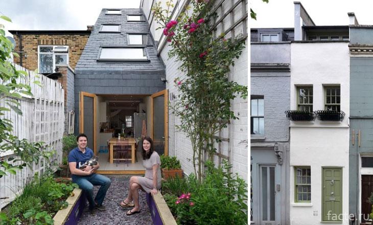 Самый узкий дом Лондона