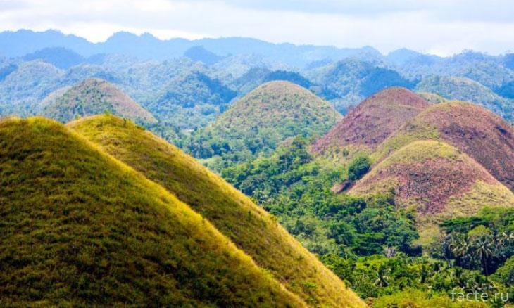 Геологический ландшафт Земли