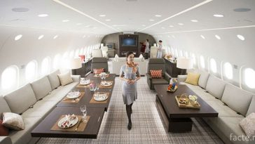 Салон Boeing 787 Dream Jet VVIP