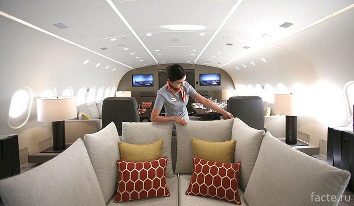 Комфорт в самолете