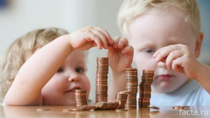 дети финансы