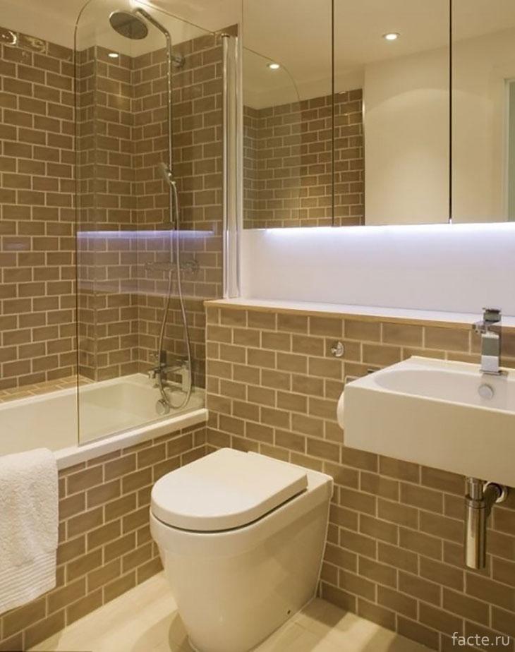Полноценная ванная комната