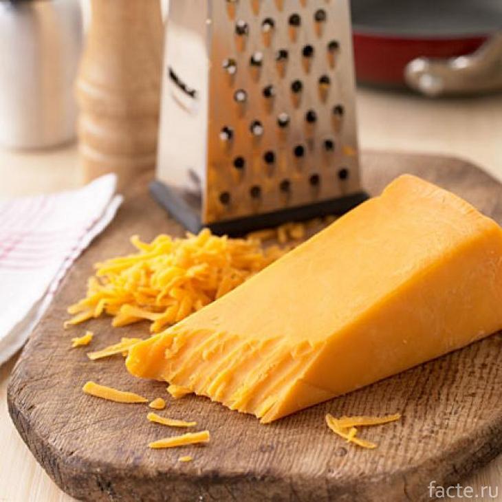 Сыр чеддар