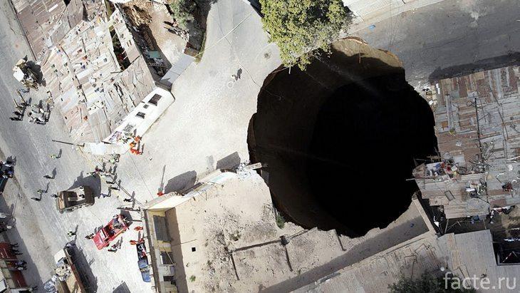 Гватемальская дыра в земле