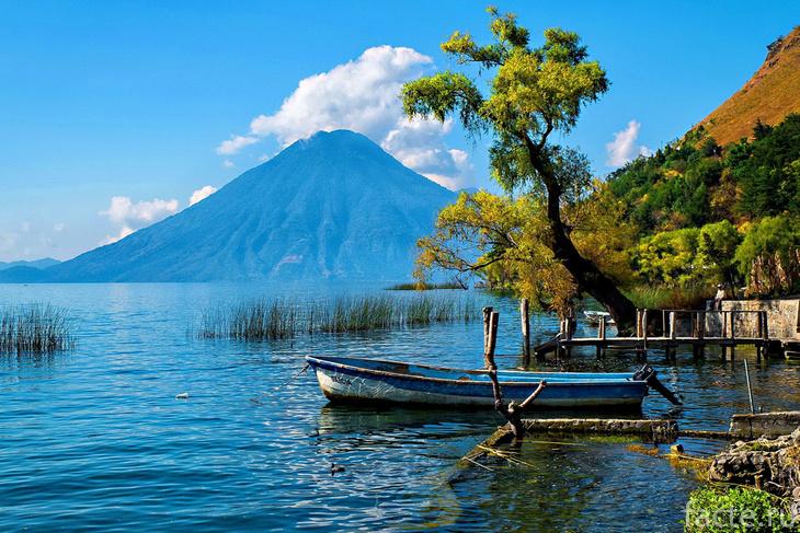 Гватемала. Озеро Атитлан