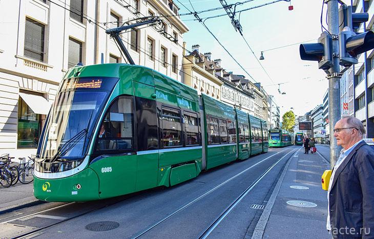 Трамвай в Базеле