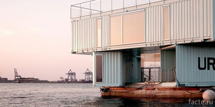 Общежитие для студентов в Копенгагене