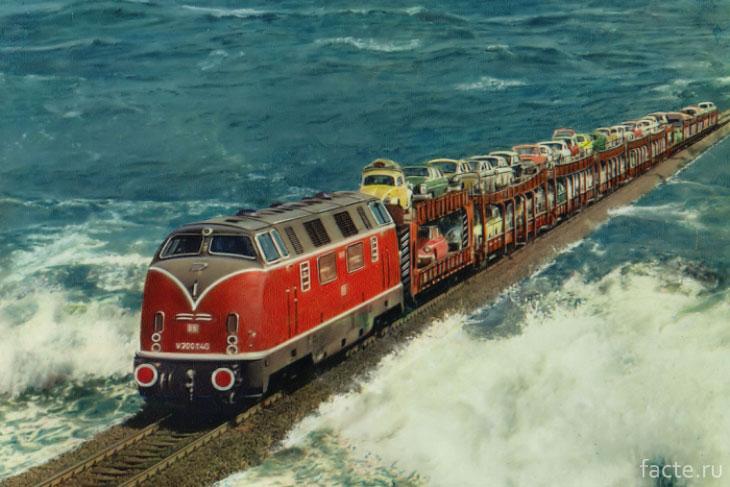 Железные дороги в экзотических местах