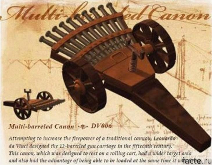 пулемет да Винчи