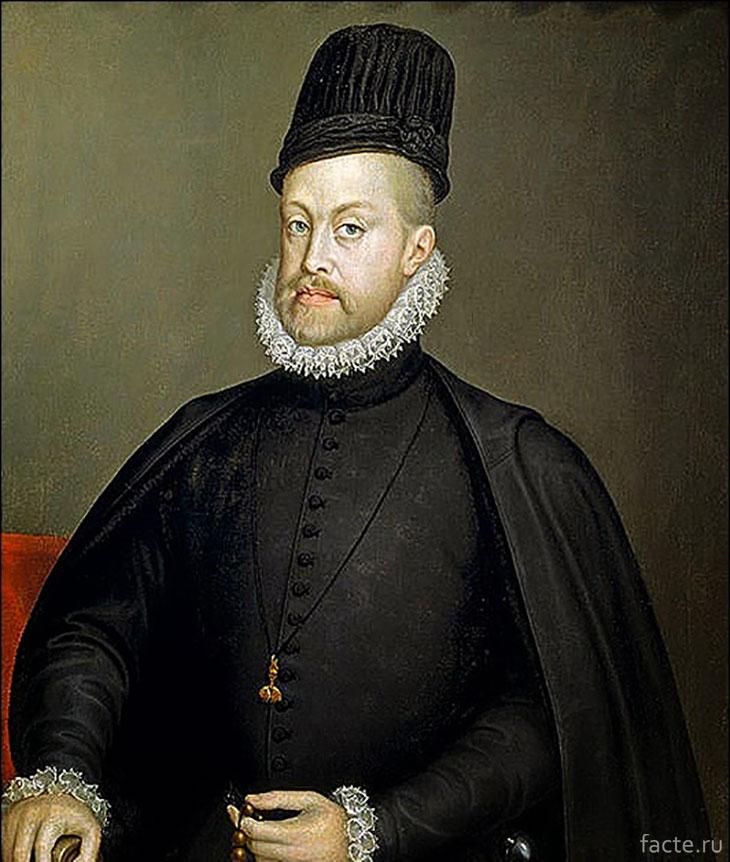 Король-Испании-Филипп-II