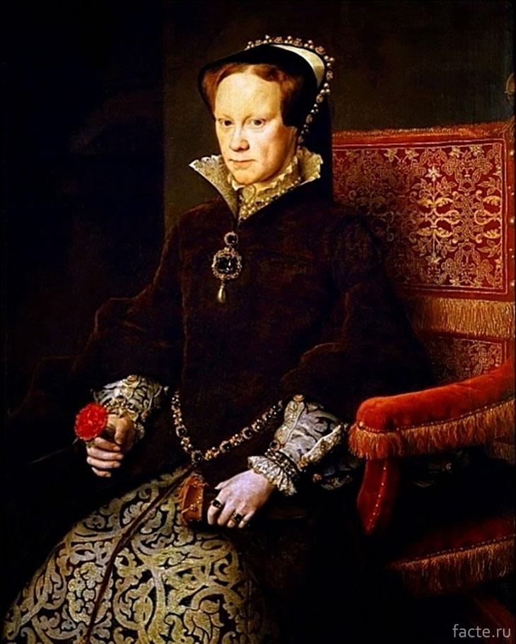 Королева-Англии-Мария-I-Тюдор