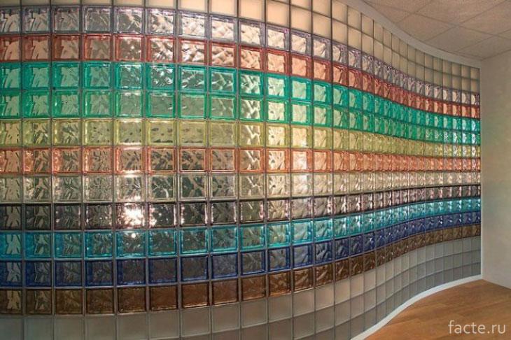 Красивые стеклоблоки