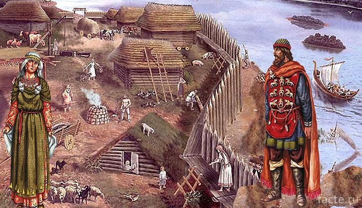 Древние славяне. Поселение