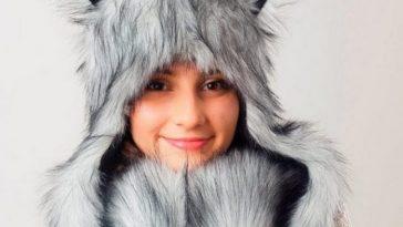 Шапка-волк