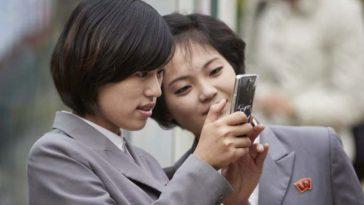 Девушки Северной Кореи