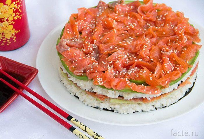 суши-торт