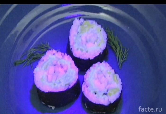 Glowing Sushi