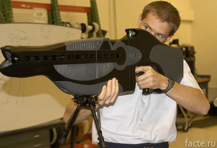 Лазерная винтовка