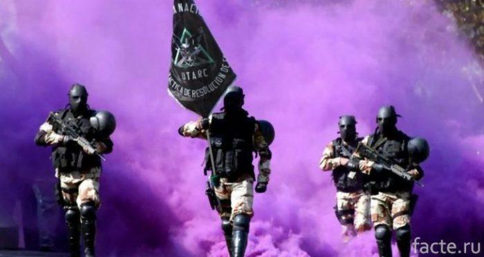 Спецназ Боливии