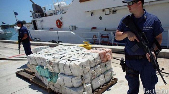 наркотики в море