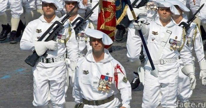 Французская парадная форма
