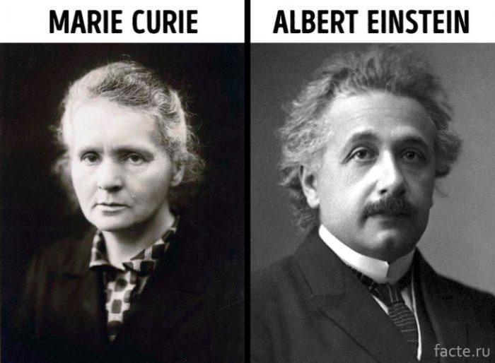 Кюри и Эйнштейн