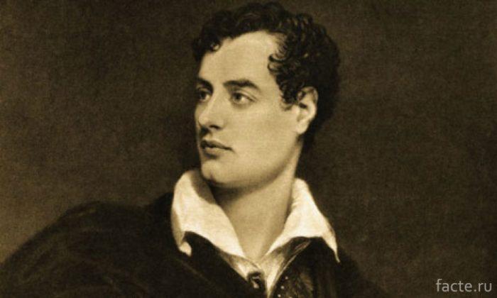 Лорд Байрон - отец Ады Лавлейс|