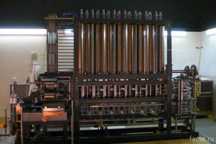 Вычислительная машина Бэббиджа|