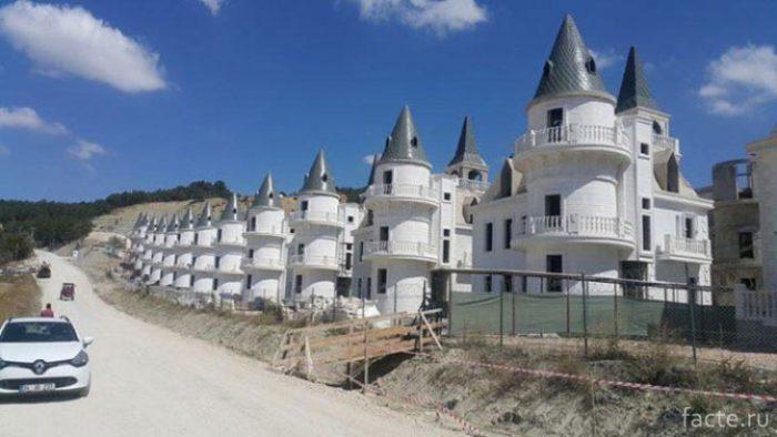 Поселок в Турции