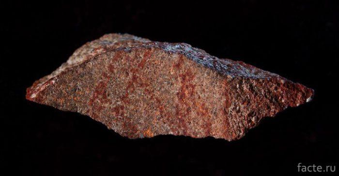 Обнаружение самого древнего человеческого рисунка