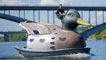 Лодка-утка