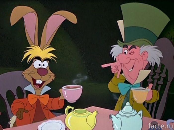 Шляпник и заяц