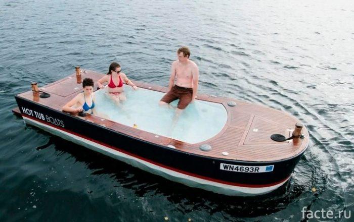 Лодка-сауна