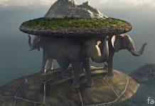 Земля на слонах