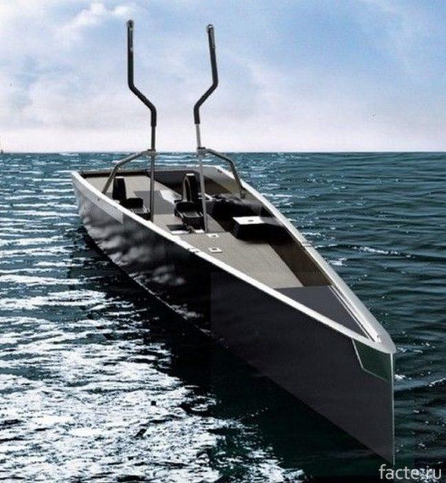 Лодка-тренажер