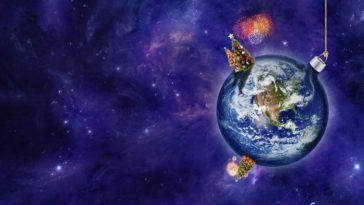 планета новый год