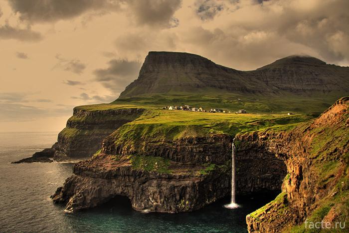 Гасадалур Фарерские острова