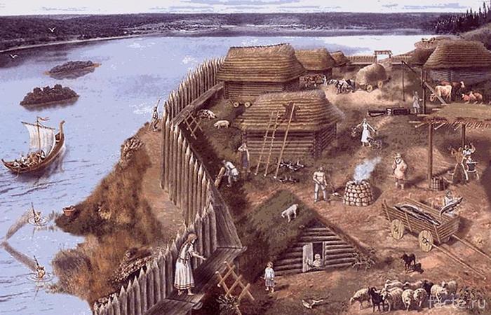 Старославянская крепость