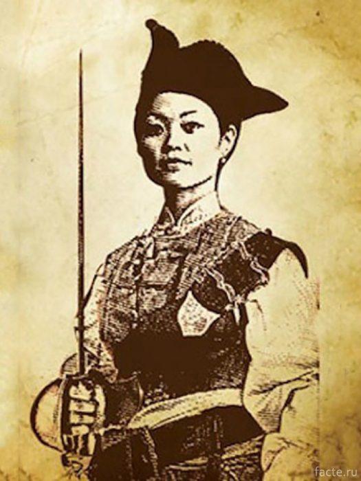 Китаянка Чжэн
