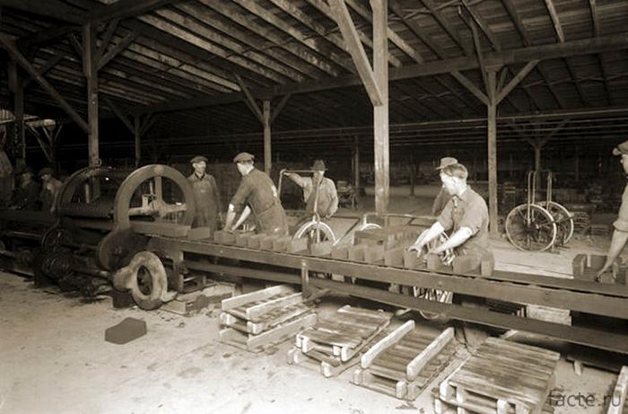 Изготовление кирпичей
