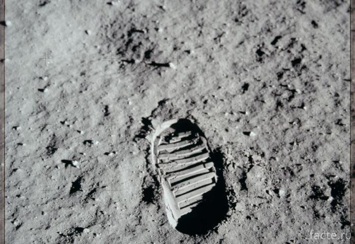 Первый человек на Луне