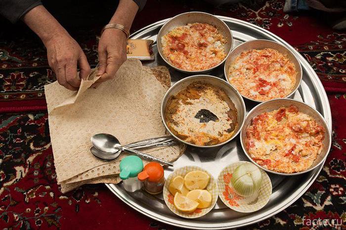 Иранский-завтрак