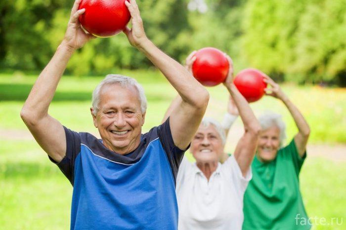спорт пожилые