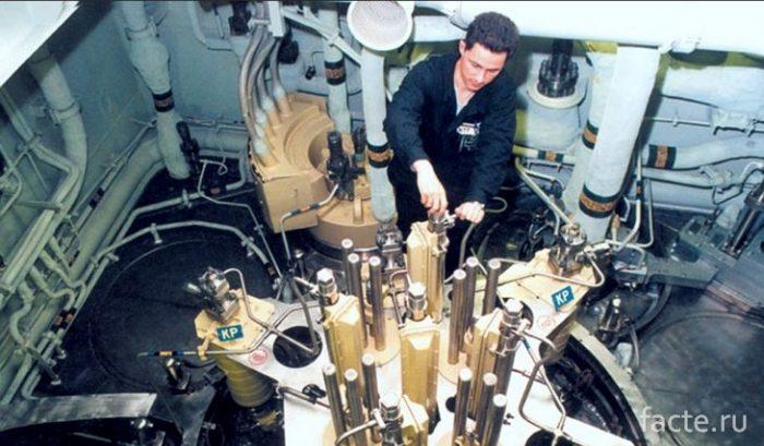 Реактор подлодки