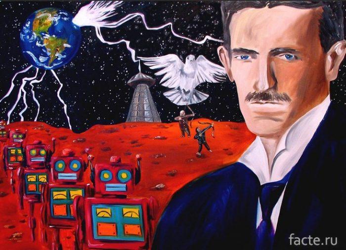 Никола Тесла и марсиане