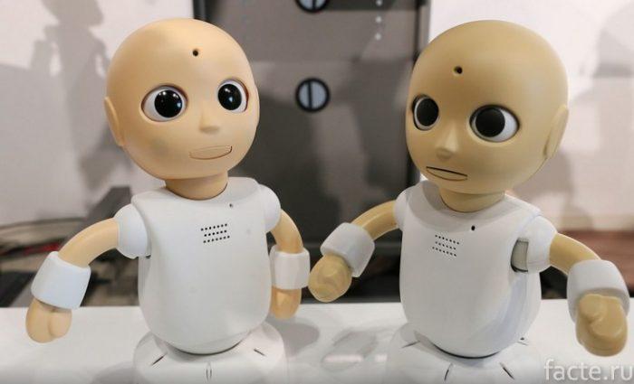 роботы-дети